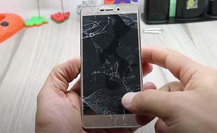 como empeñar celulares con la pantalla rota