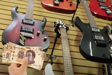 cuanto me dan por una guitarra en el empeño