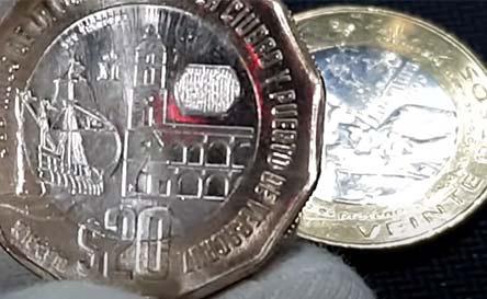 dónde vender moneda de 20 pesos veracruz